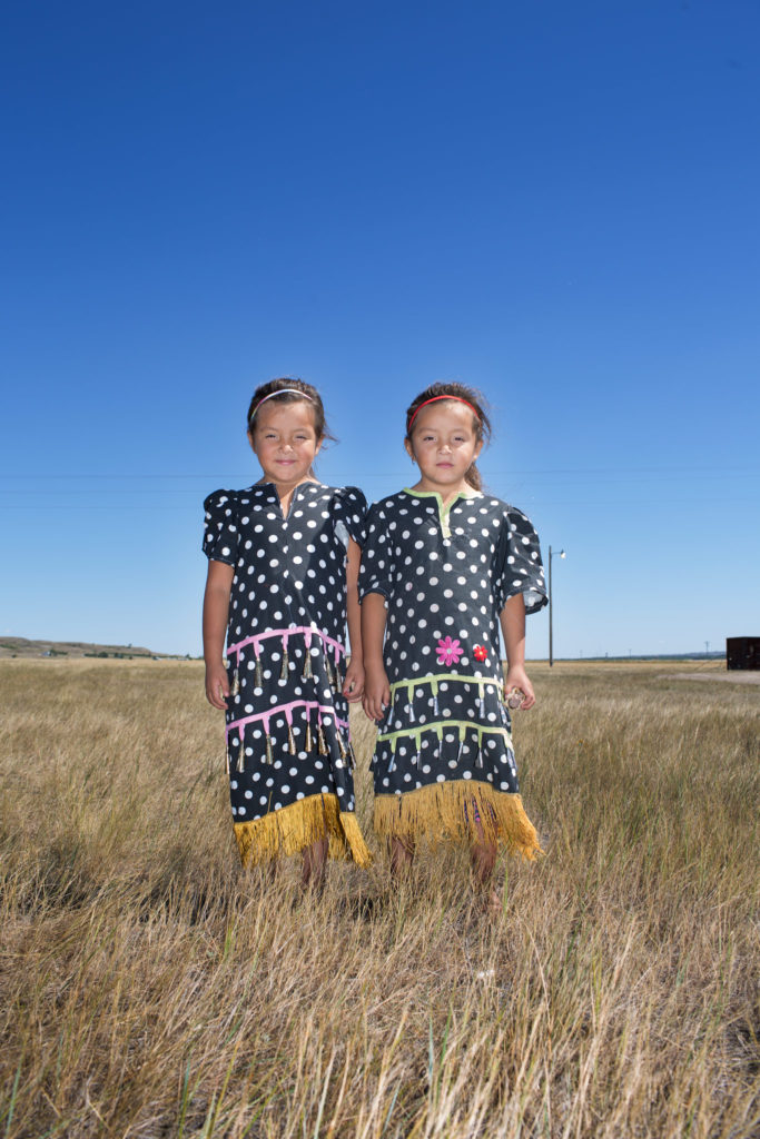 Smith's twins, Fort Peck Tribe, Montana